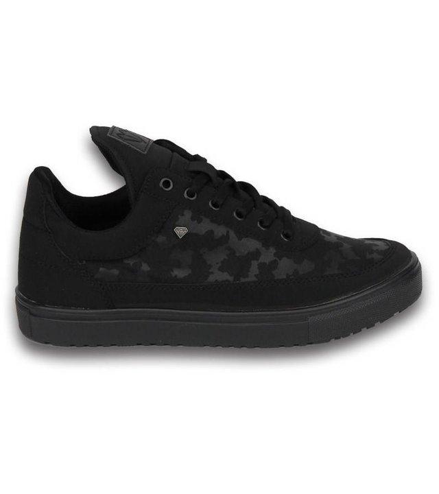 Cash Money Sneakers - Schuhe Tarnung Seite Herren - Schwarz