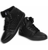 Cash Money Sneakers - Schuhe hoch Herren -Schwarz