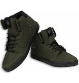 Cash Money Sneakers - Schuhe hoch Herren - Khaki