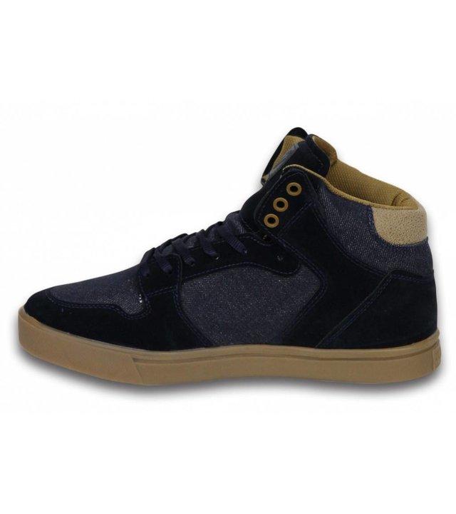 Cash Money Sneakers - Schuhe hoch Herren- Denim Navy