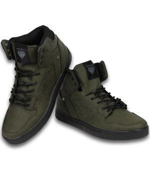 Cash Money Sneakers - Schuhe hoch Herren- Touch Khaki