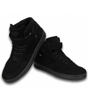 Cash Money Sneakers - Schuhe hoch Herren- Dolce Schwarz