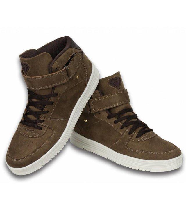 Cash Money Sneakers - Schuhe hoch Herren- Dolce Taupe