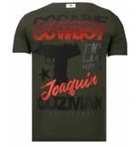 Local Fanatic Cocaine Cowboy - Strass T-shirt - Grün