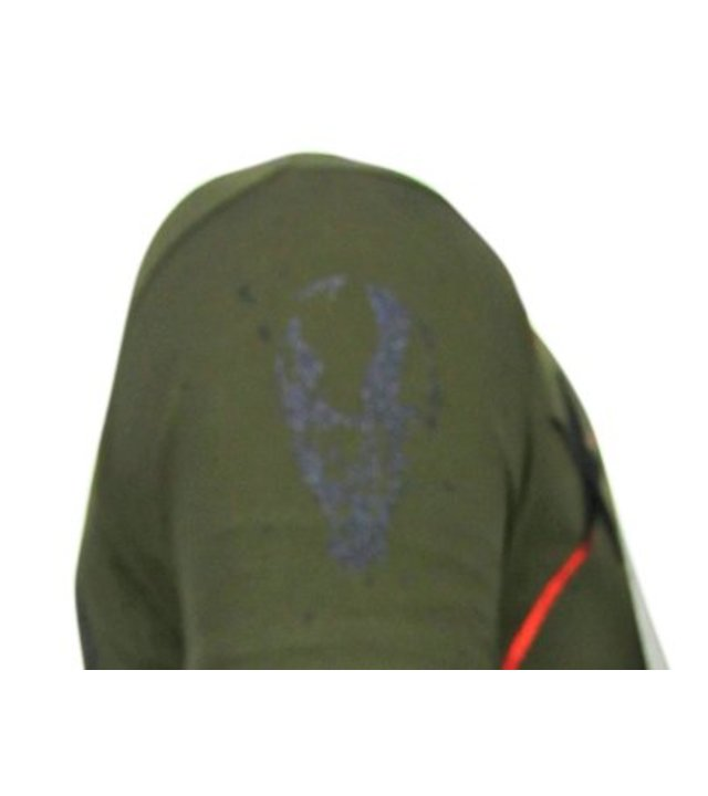 Local Fanatic God Of War - Strass T-shirt - Grün