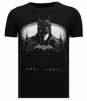 Local Fanatic Badman - Strass T-shirt - Schwarz