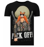 Local Fanatic Bandit Chief - Strass T-shirt - Schwarz