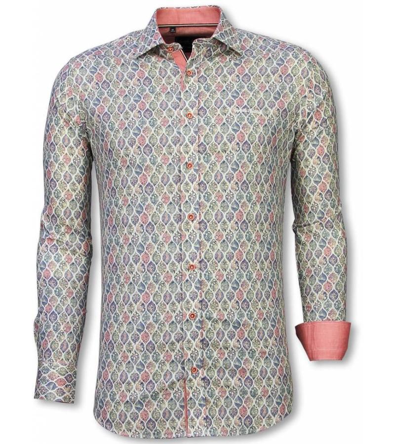 brand new d0d55 9b5b8 Italienische Hemden - Slim Fit Hemd - Bluse Pastell ...