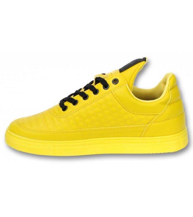 Cash Money Herren Schuhe - Sneaker Herren Low Beehive - Gelb