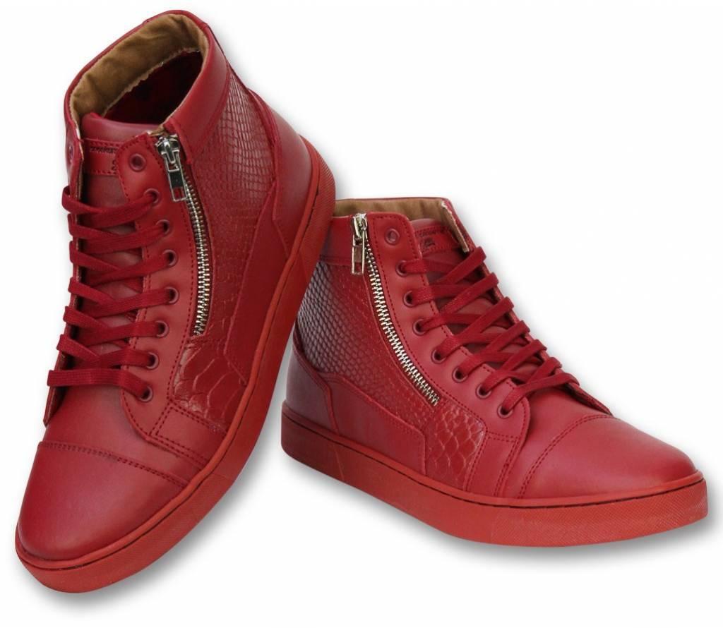 Sixth June Herren Schuhe - Sneaker Herren High Heel - Rot