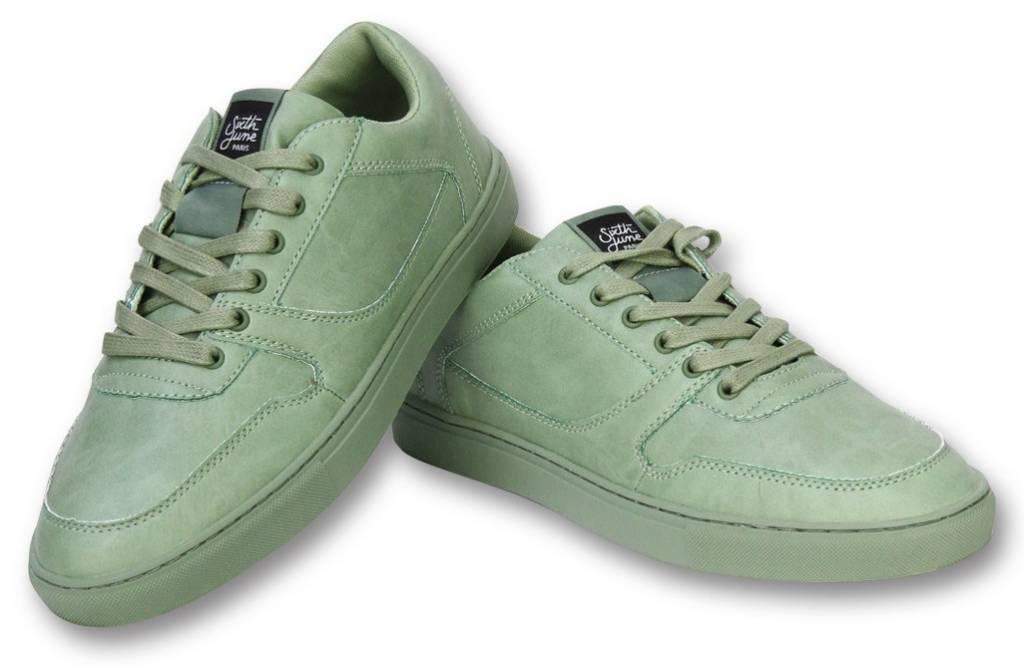 Sixth June Herren Schuhe - Sneaker Herren Seed Essential - Grün