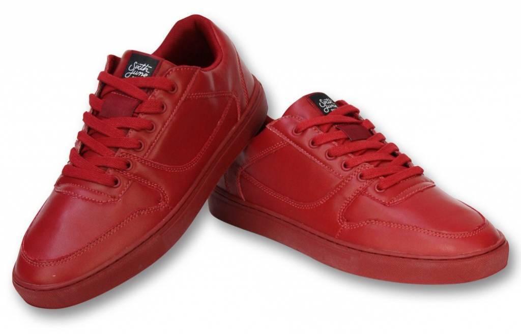 Sixth June Herren Schuhe - Sneaker Herren Seed Essential - Rot