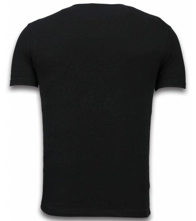 Mascherano Stewie Ausgefallene t shirts - Family Guy T-Shirt - Schwarz