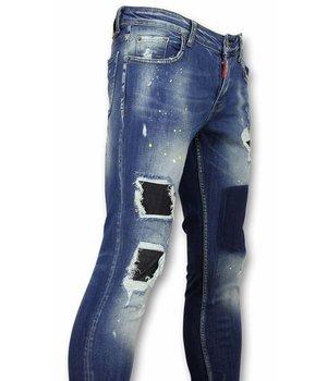 Addict Männer Jeans - Herren Jeans - Farbe DQ - Blau
