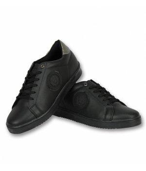 Cash Money Herren Schuhe - Herren Sneaker Tiger Black - CMS16 - Black