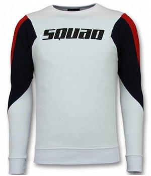 UNIMAN Three Color Sweatshirt - Squad Sweater Herren Sale - Weiß