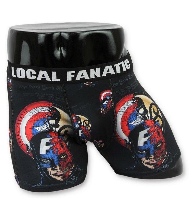 Local Fanatic Comic boxershorts - Boxershorts herren comic - B-6266