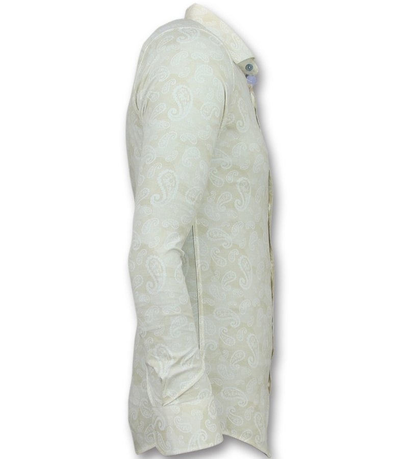 Gentile Bellini Hemden für junge männer - Casual hemden slim fit - 3010 - Weib