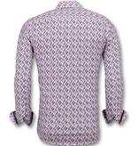 Gentile Bellini Slim fit hemd herren - Oberhemden männer - 3013 - Rosa