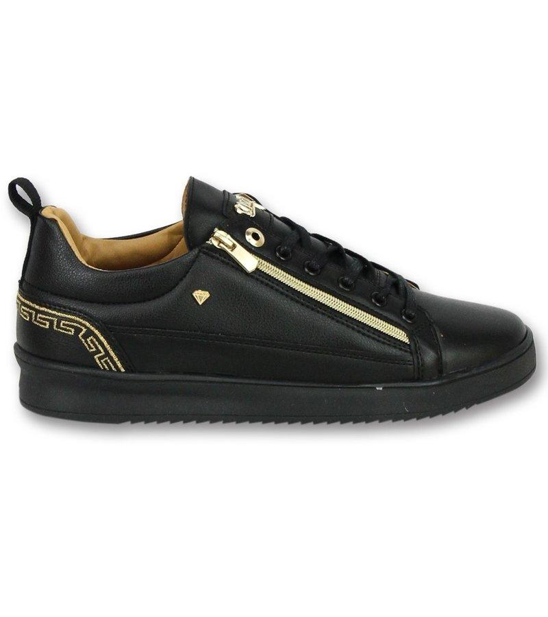 Cash Money Low sneaker herren schwarz - Männer schuhe Cesar Full Black - CMP97