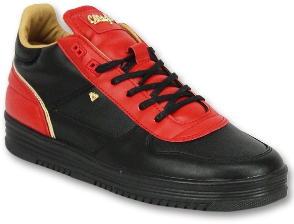 34f06a6e36 ... Cash Money Schuhe herren sneaker high - Luxury Black Red- CMS72 - Rot  ...