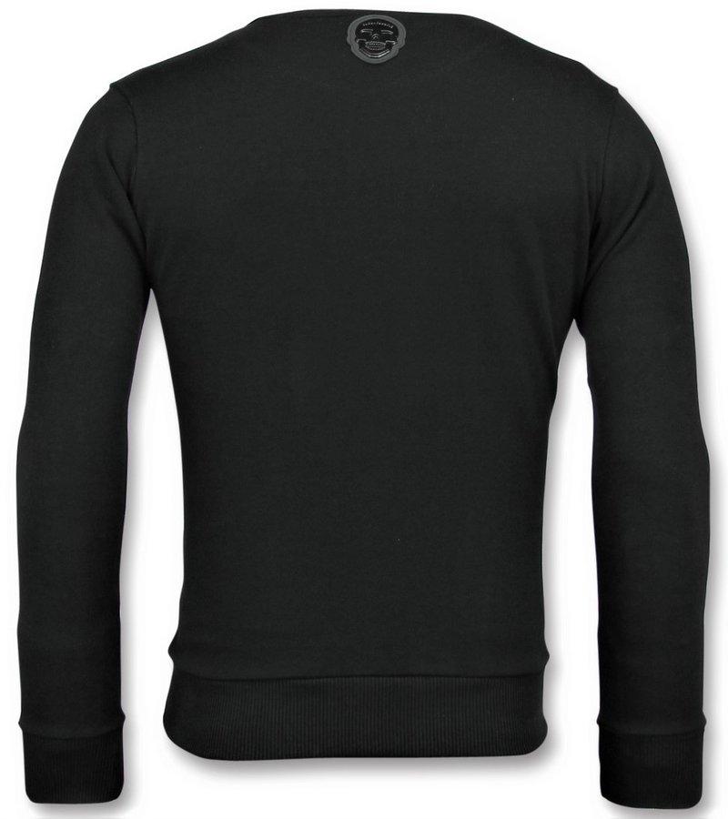 Local Fanatic ICONS Sweatshirt - Schöne Herren Pullover - 6349Z - Schwarz