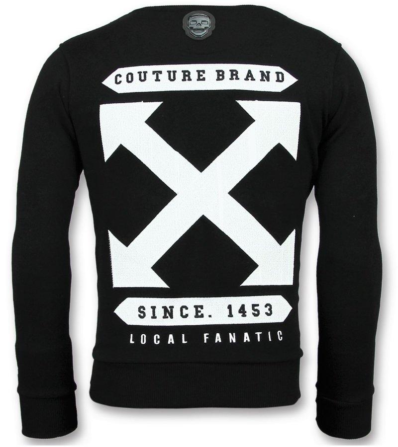 Local Fanatic Off Cross New Sweater - Pullis Für Herren - 6356Z -Schwarz