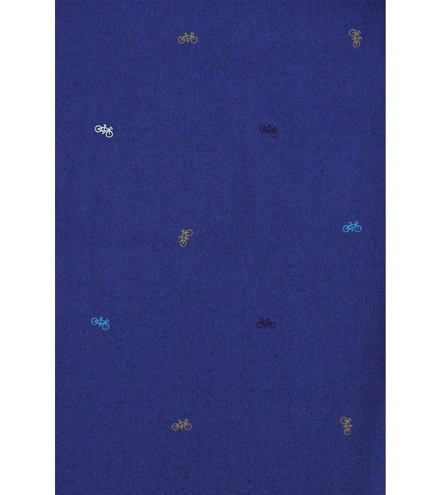 Gentile Bellini Herren Slim Fit Shirts - Bicycle Coole Männer Bluse - 3017 - Blau
