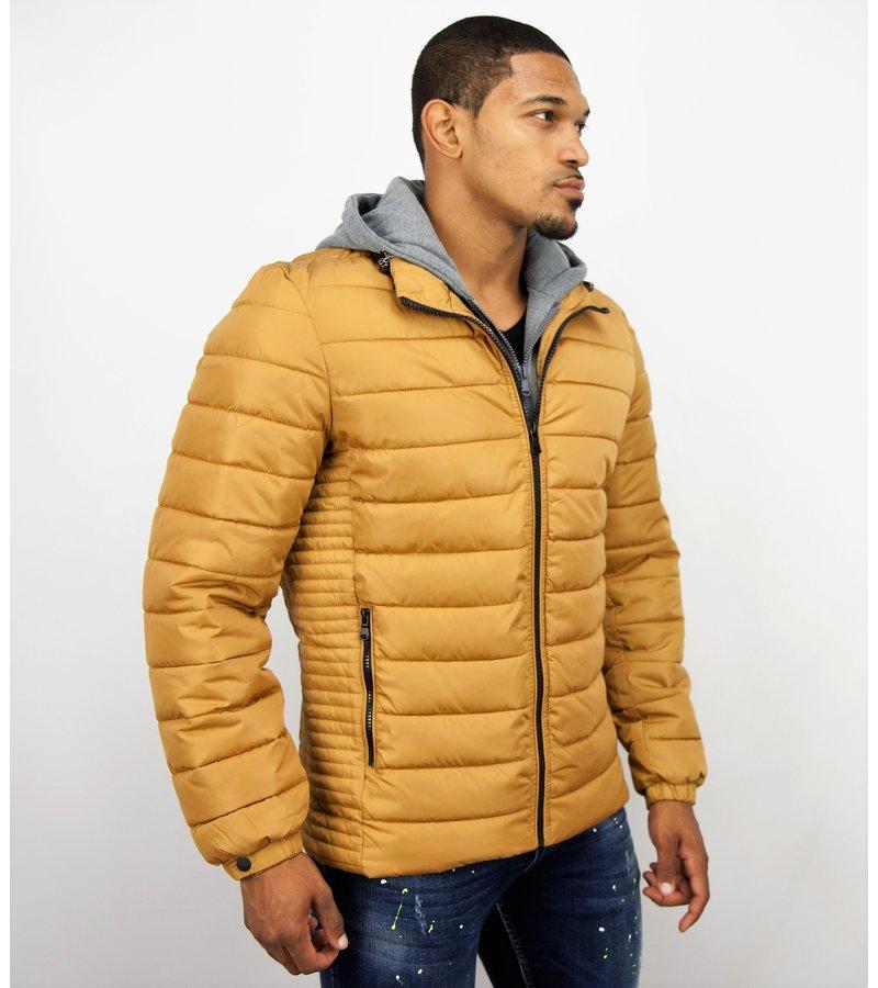 Herrenjacken | Winterjacke Männer | Gelbe Jacke