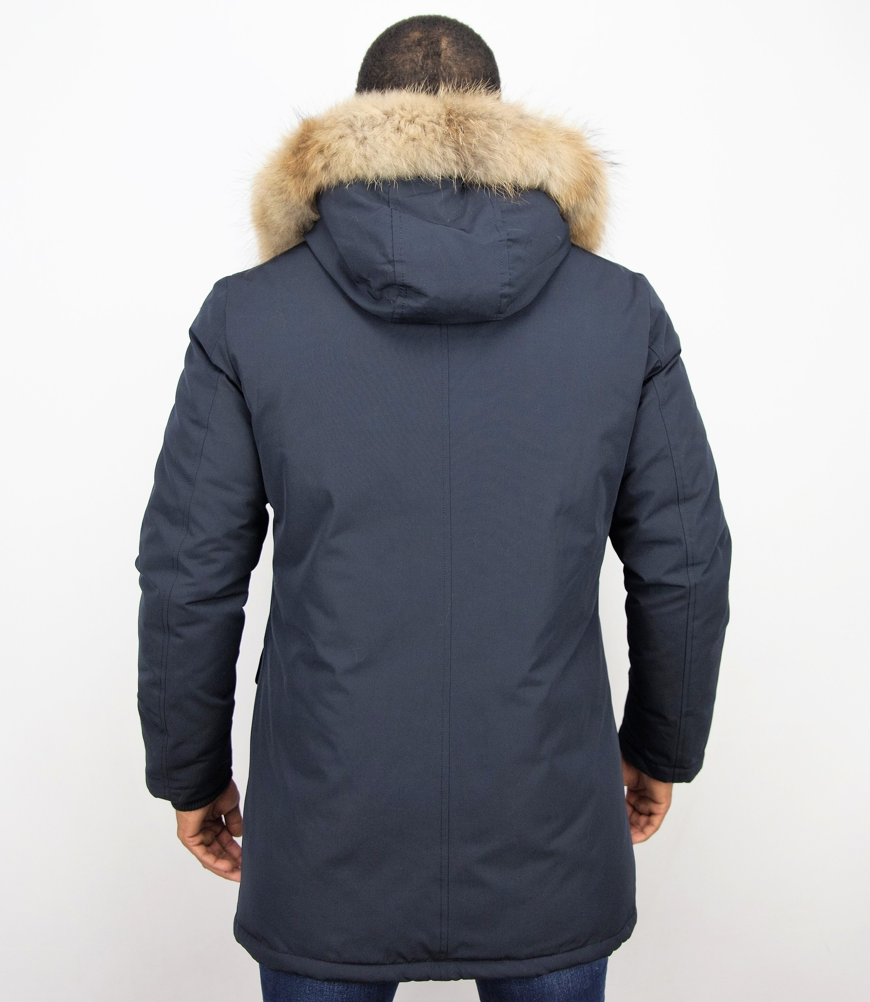 Enos Jacken mit Fellkragen Winterjacken Herren Lange