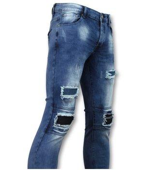 New Stone Zerrissene Jeans für Männerr - Slim Fit - 1061 - Blau
