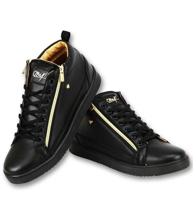 Cash Money Schuhe Männer Bee Black Gold V2- CMS98 - Schwarz