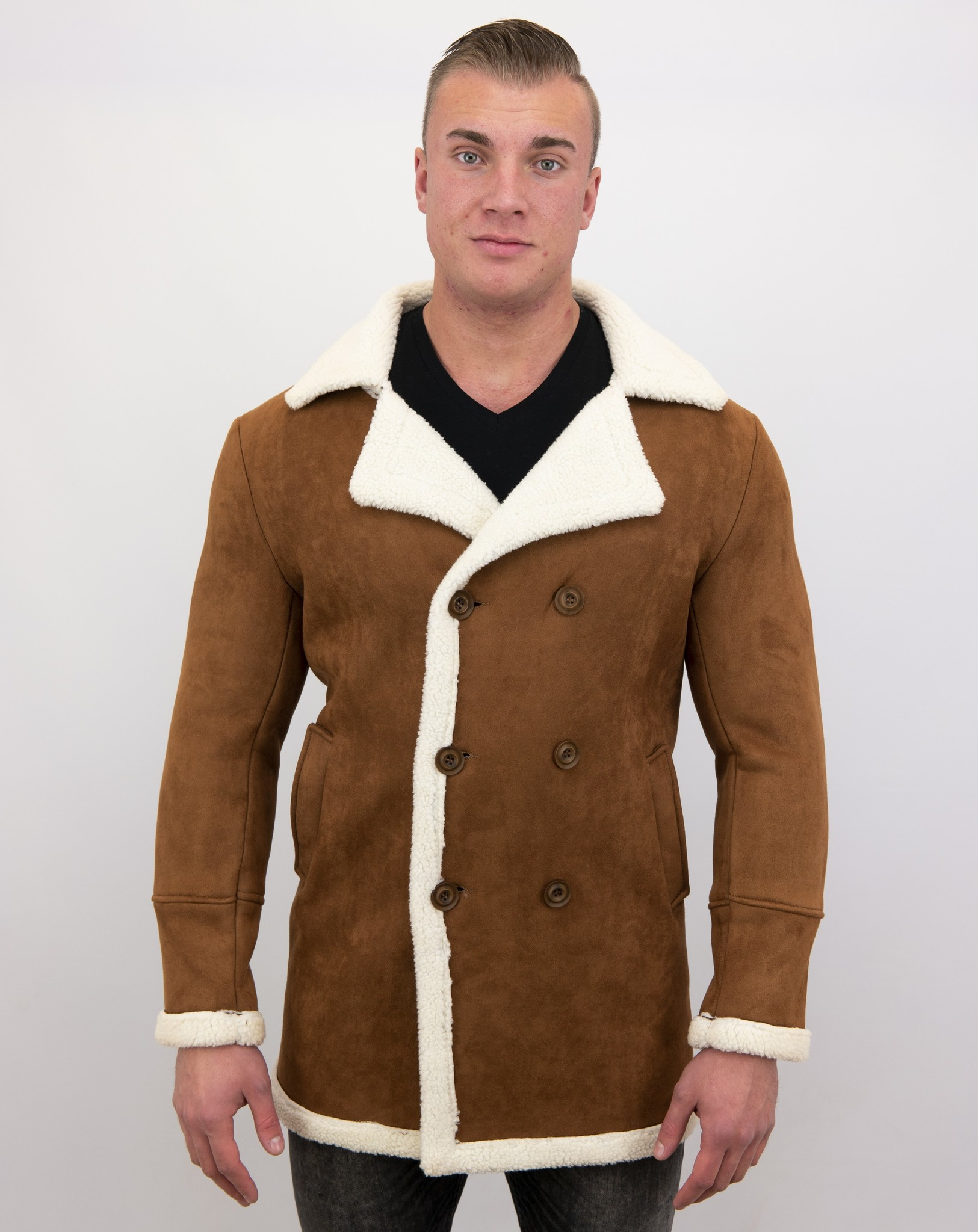 Shearling Jacke Herren Lammfell | GRATIS Versand