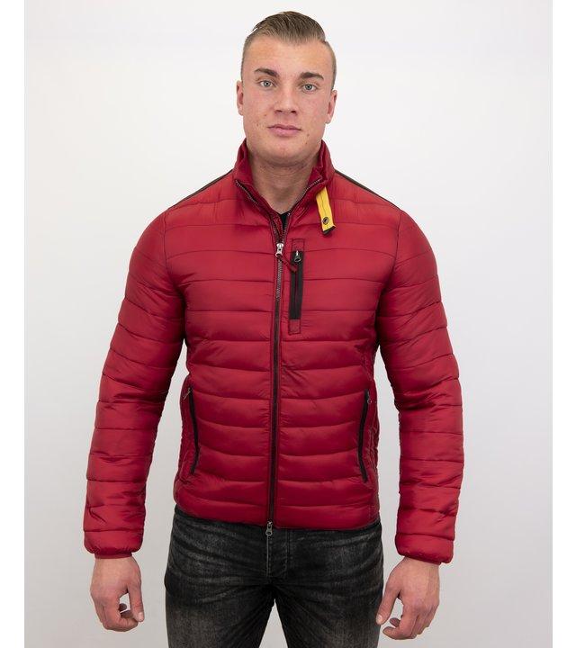 Enos Herren Kurzjacke - Slim Fit - ZM8097-R - Rot
