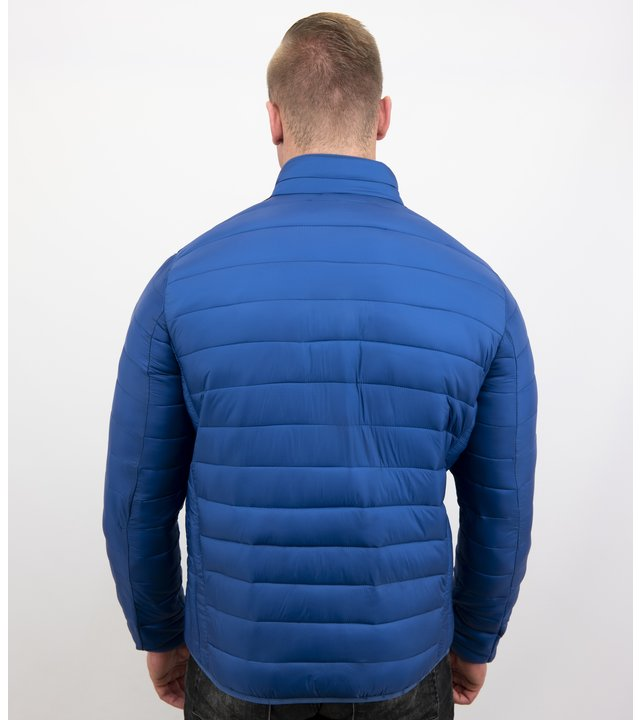 Enos Herren Jacke Slim Fit - Kurze Jacke - ZM8097- Blau