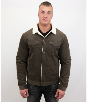 Palablu Trucker Jacket Type - 820-6 -  Brown