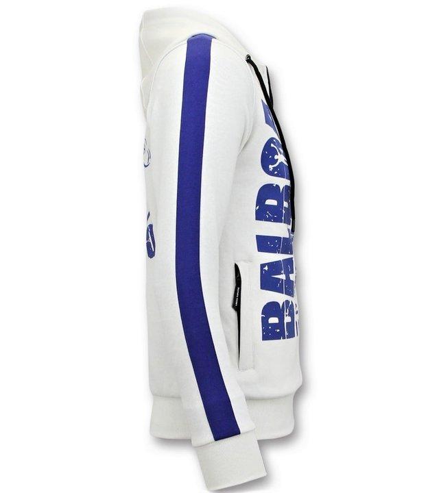 Local Fanatic Exklusive Trainingsweste für Männer - Rocky Balboa - Weiß
