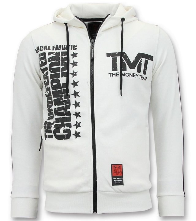 Local Fanatic Exklusive Trainingsweste Männer - TMT Floyd Mayweather - Weiß