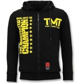 Local Fanatic Exklusive Trainingswesten Herren - TMT Floyd Mayweather - Schwarz