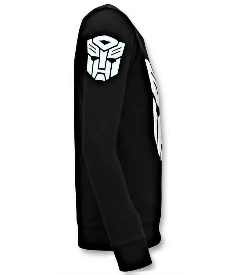 Local Fanatic Herrenpullover - Transformers - Schwarz