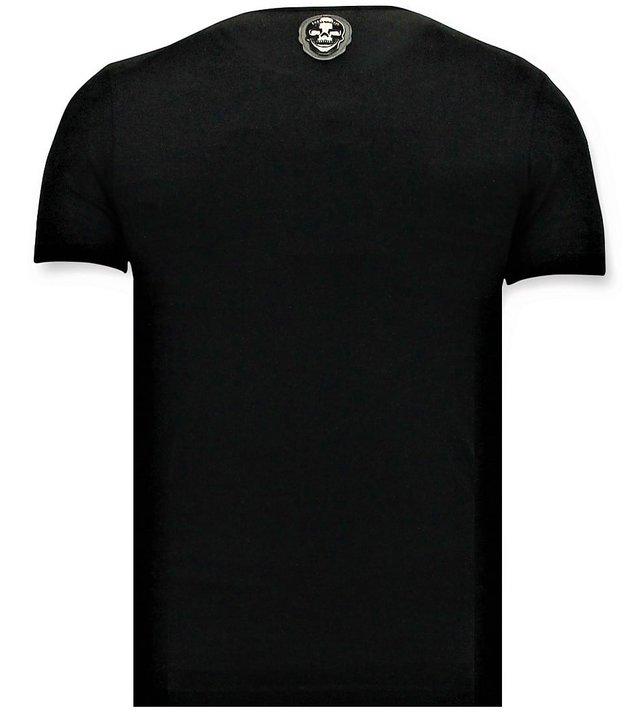Local Fanatic Cooles T-Shirt Herren - Narcos Pablo Escobar - Schwarz