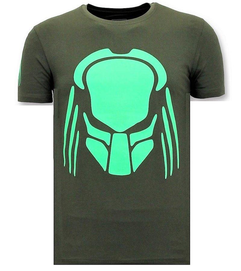T-Shirt Männer mit Aufdruck | Predator Neon | - Styleitaly ...