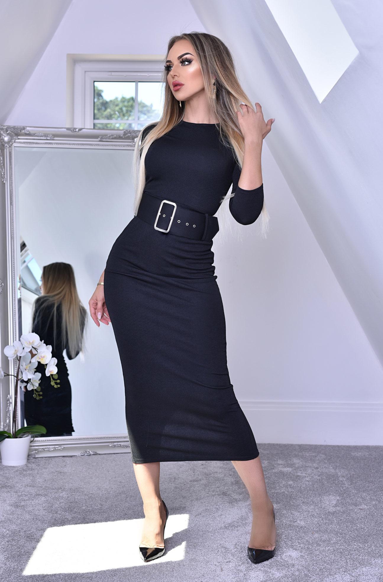 eliana midaxi schwarze kleid - frauen - schwarz - styleitaly.de