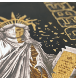 Local Fanatic Luxuxmänner T-Shirt - Der Rebell - Schwarz