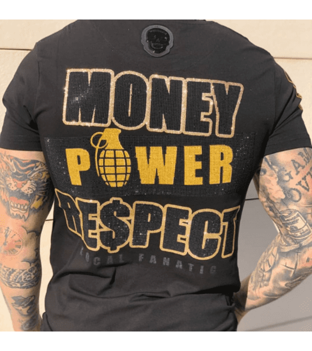 Local Fanatic Exklusive Männer-T-Shirt - Cosa Nostra Mafioso - Schwarz