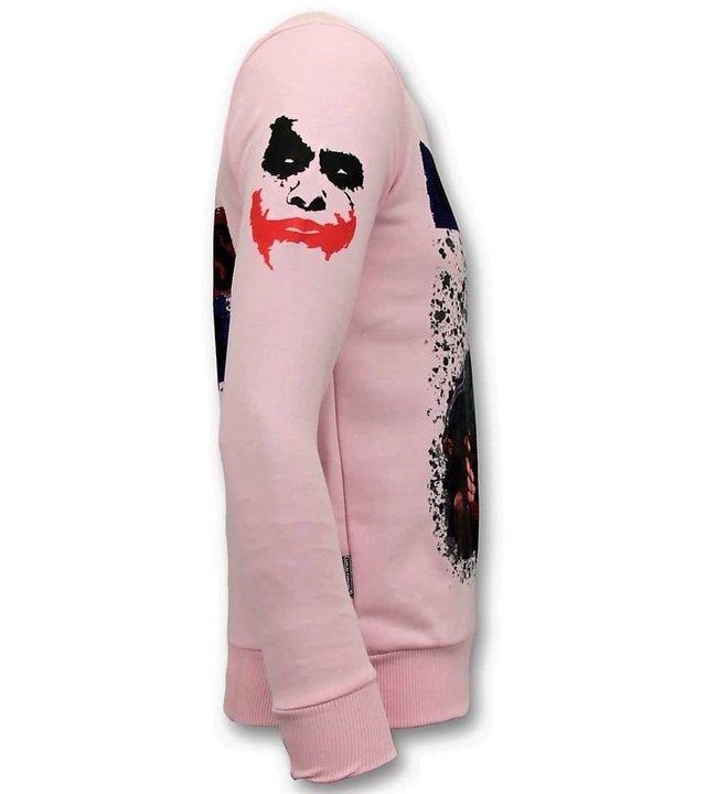 Local Fanatic Exklusive Herren - Der Joker-Mann - Rosa