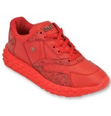 Cash Money Herren-Schuhe - Rot-Touch - CMS181 - Rot
