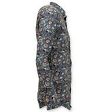 Tony Backer Exklusiv Italienisch Hemd Männer - Digital-Blumendruck - 3062 - Grün