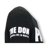 Local Fanatic Cool T-Shirt Männer - Padrino Corleone - Schwarz