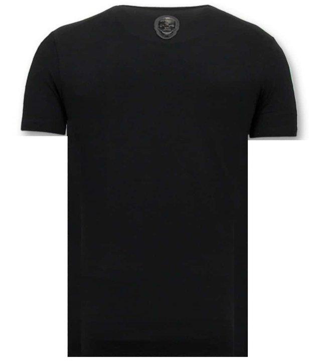 Local Fanatic T-Shirt Männer mit Druck - Zwitsal Mit Sunglass - Schwarz